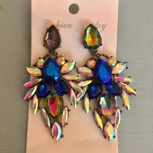 Colorful Pageant Earrings